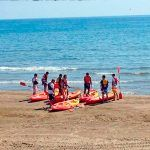 Guided Kayak Tour in Valencia and Paella Lunch at the Beach