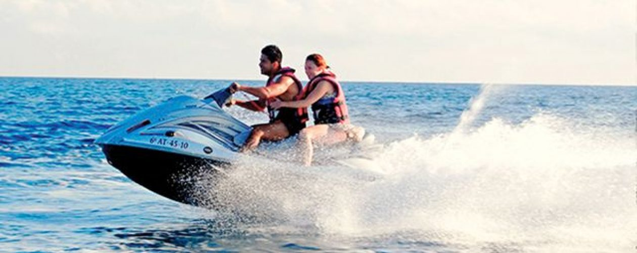 Valencia Jet Ski Guided Tour and Seaside Paella Lunch